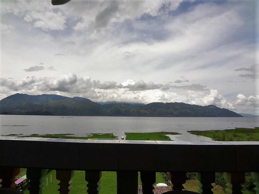 view of Lake Yajoa in Honduras