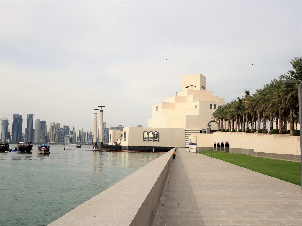 View of Museum of Islamic Art from Corniche