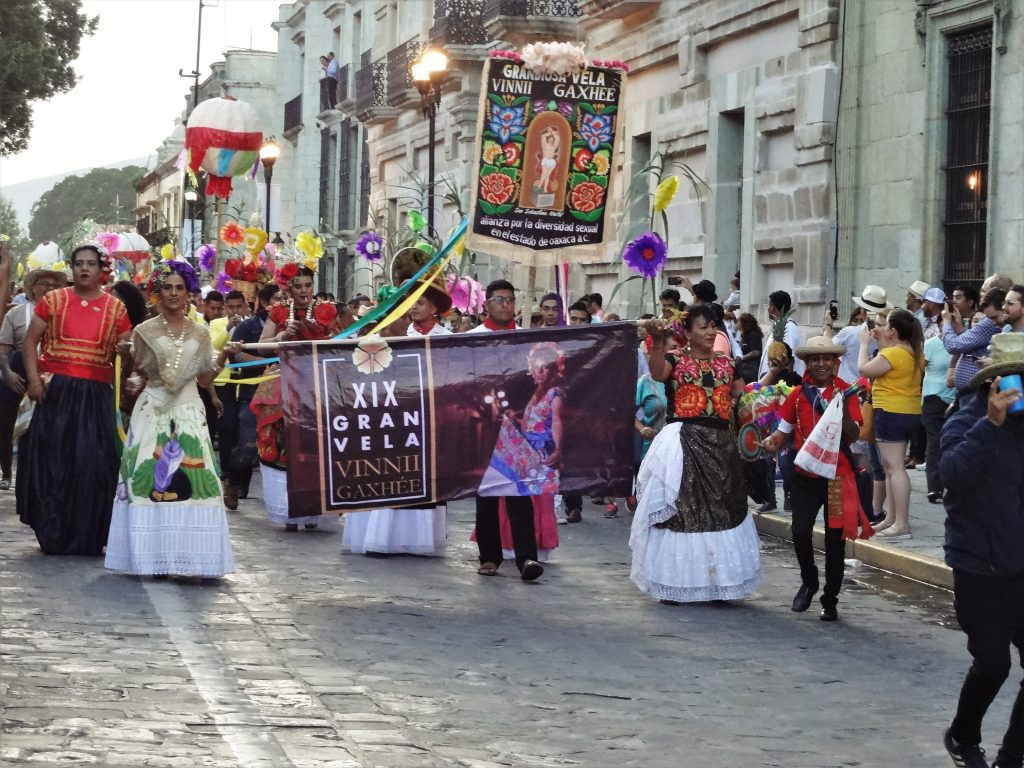 Calenda during Guelagetza 2019