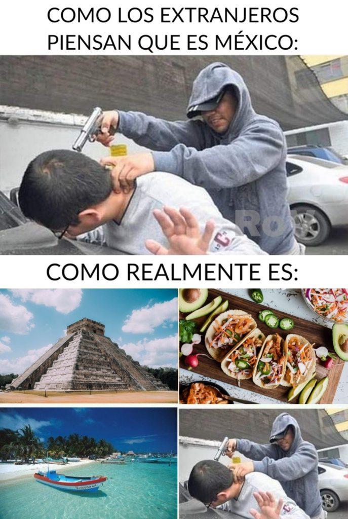 Mexico travel meme