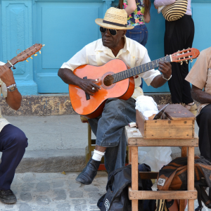 Cuban street musicians