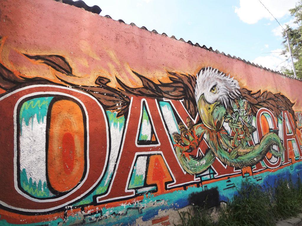 Street art in Oaxaca centro