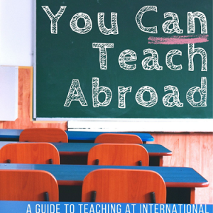 You Can Teach Abroad cover art
